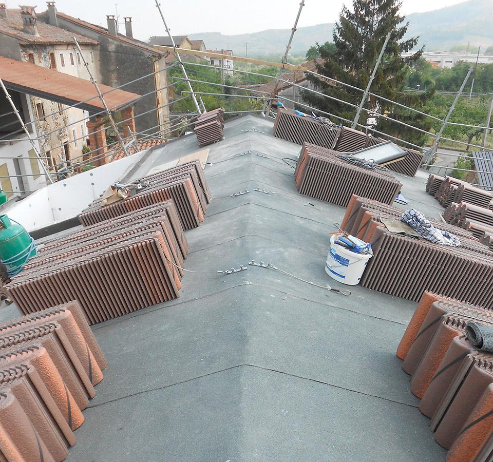 Rifacimento tetti, impermeabilizzazione e manutenzione delle coperture
